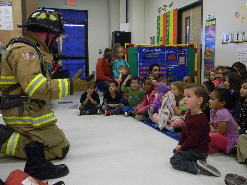 Firefighter visit1