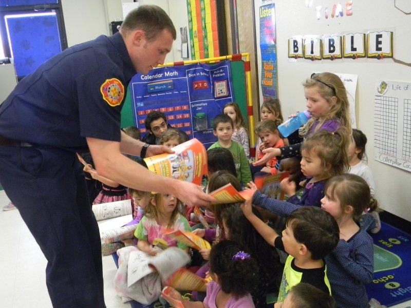 Firefighter visit2