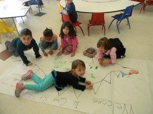 Preschool teamwork